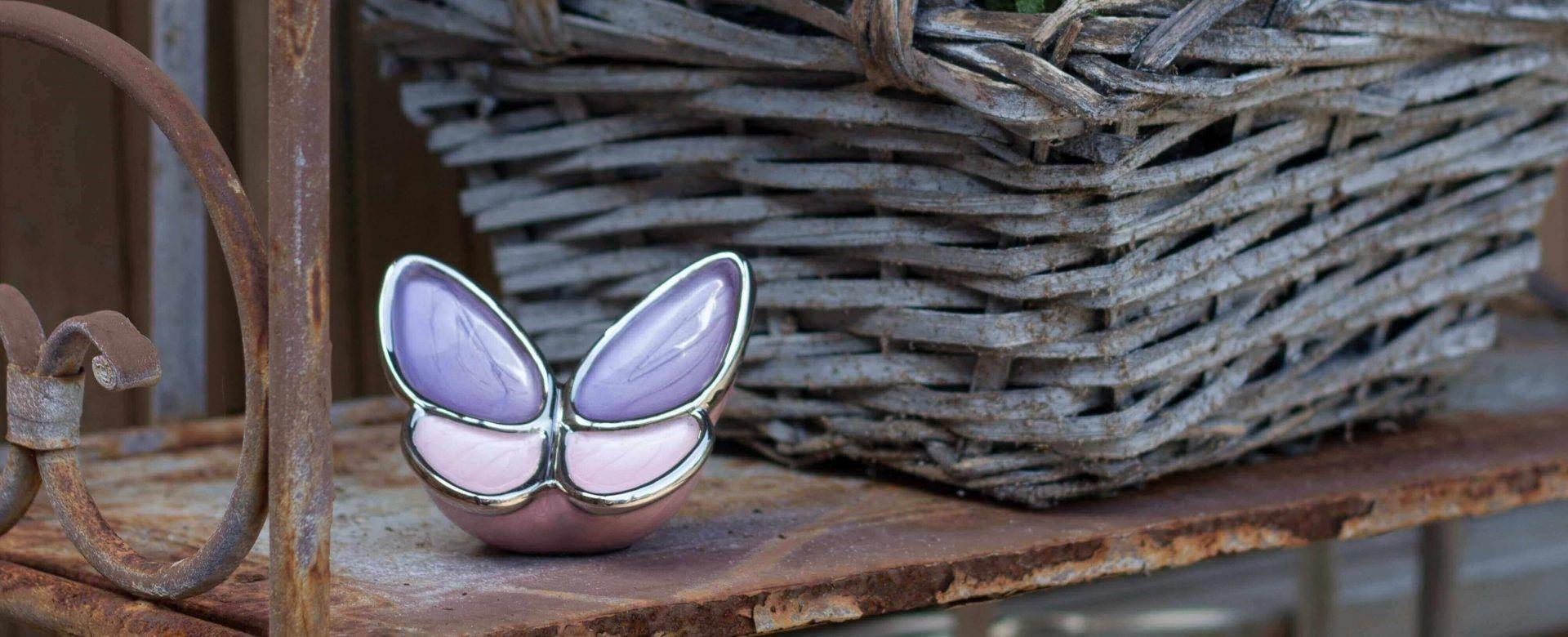 Urn Vlinder - Barbara uitvaartverzorging